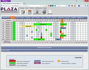 DM Plaza online, grafik rezerwacji