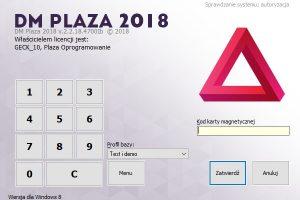 Formatka startowa DM Plaza 2018